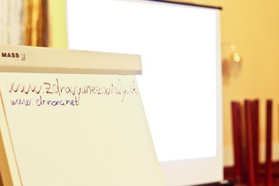 príprava pred prednáškou