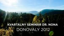 Kvartálny seminár Donovaly 2012
