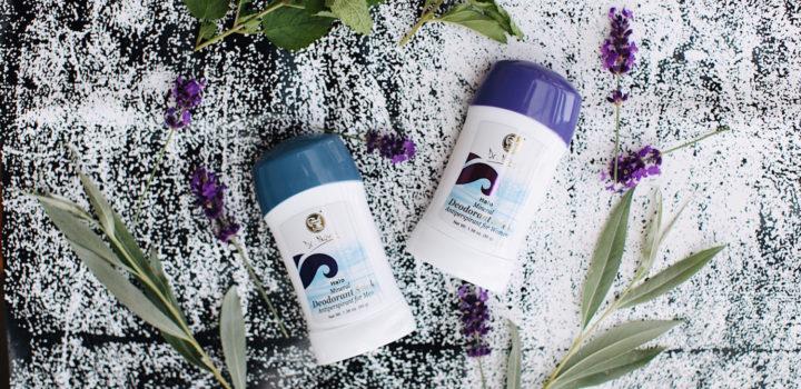 Produkcia Dr. Nona: Tuhý dezodorant pre mužov a ženy