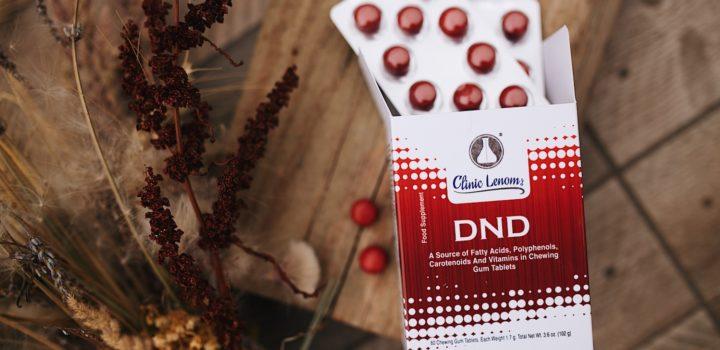 Produkcia Dr. Nona: Žuvacie tablety DND
